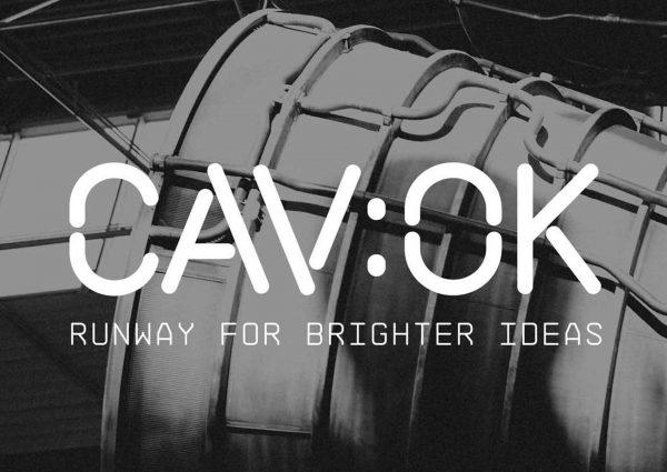 Logotyp CAV:OK