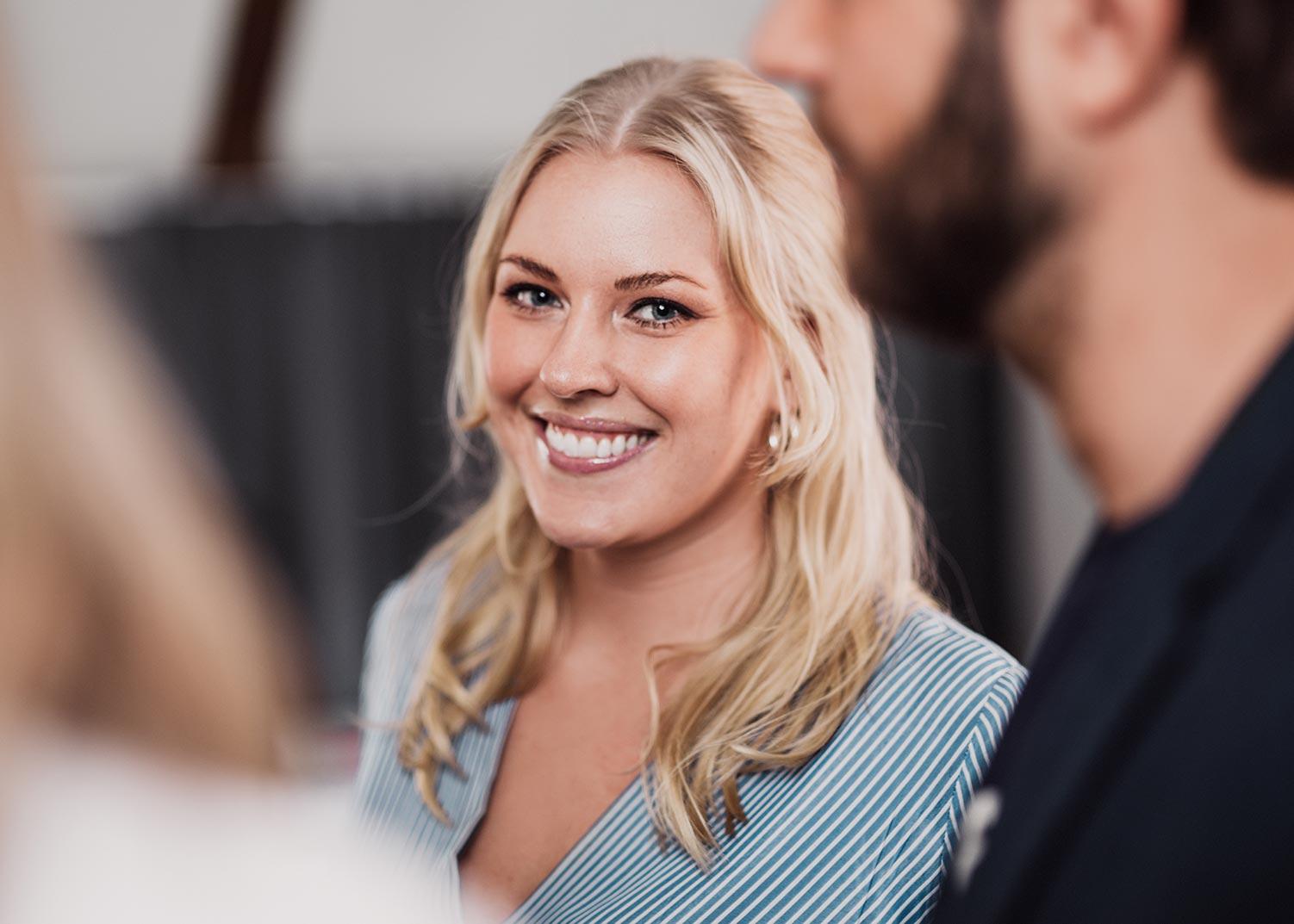 Hanna Wännlund, projektkoordinator på Identx