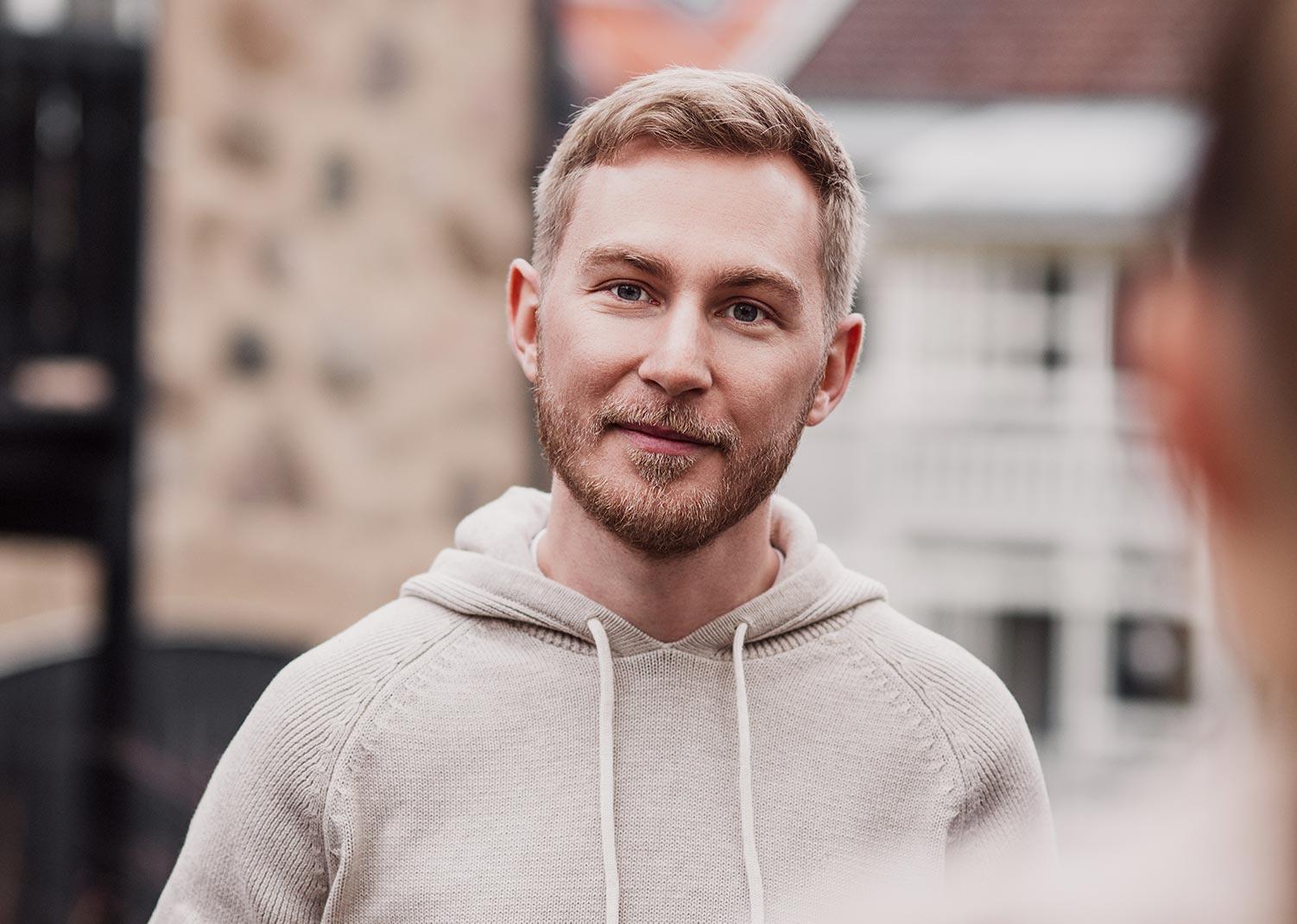 Josef Alin, grafisk formgivare på Identx