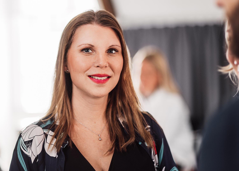 Karin Henriksson, kommunikationskonsult på Identx
