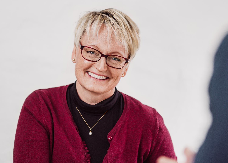Monica Karlsson, kontorsassistent på Identx