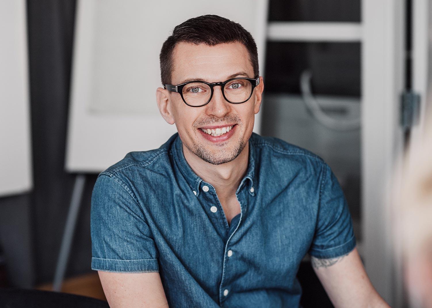 Staffan Emanuelsson, varumärkeskonsult på Identx