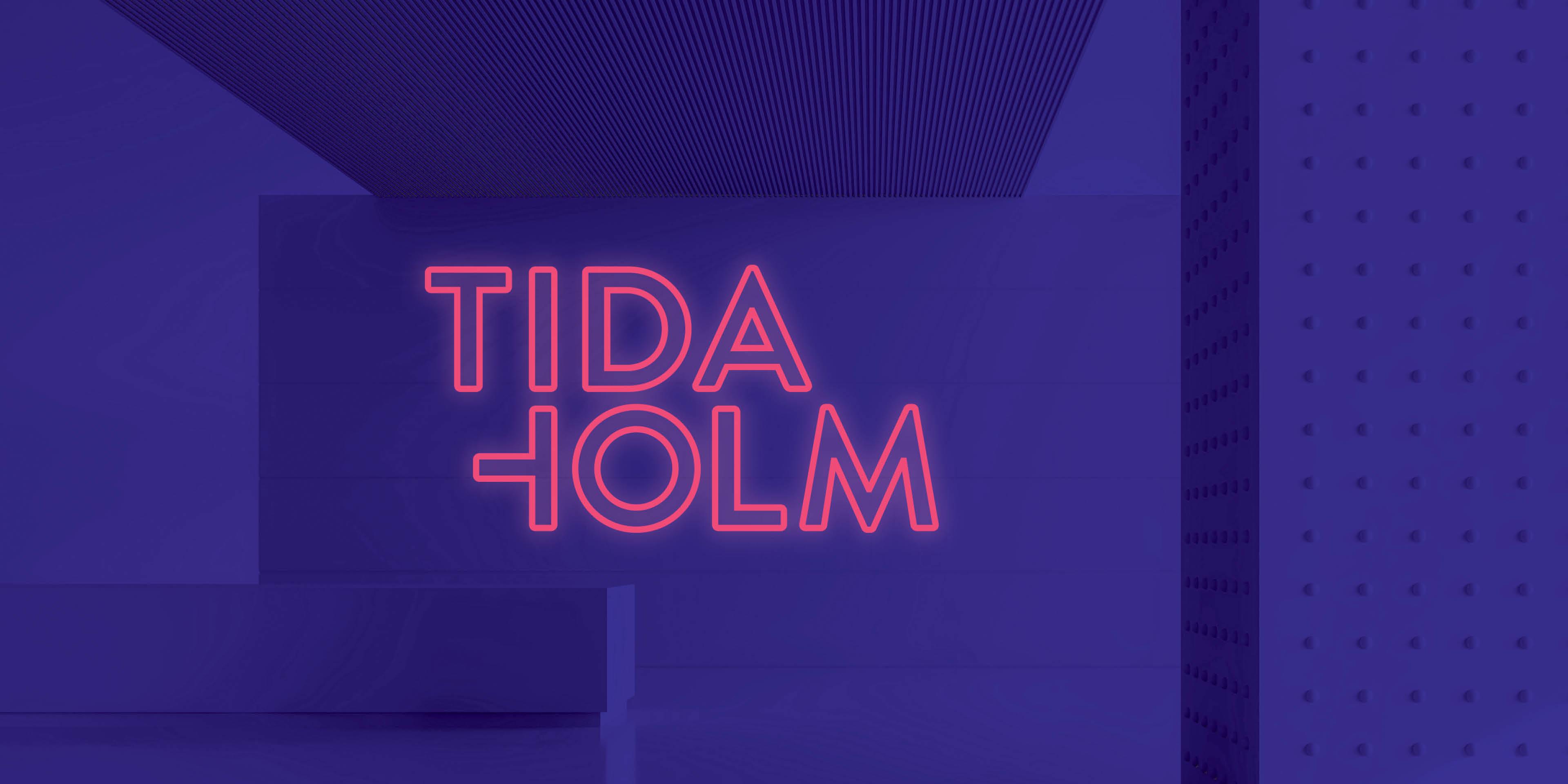 Logotyp ur Tidaholms grafiska profil, framtagen av Identx