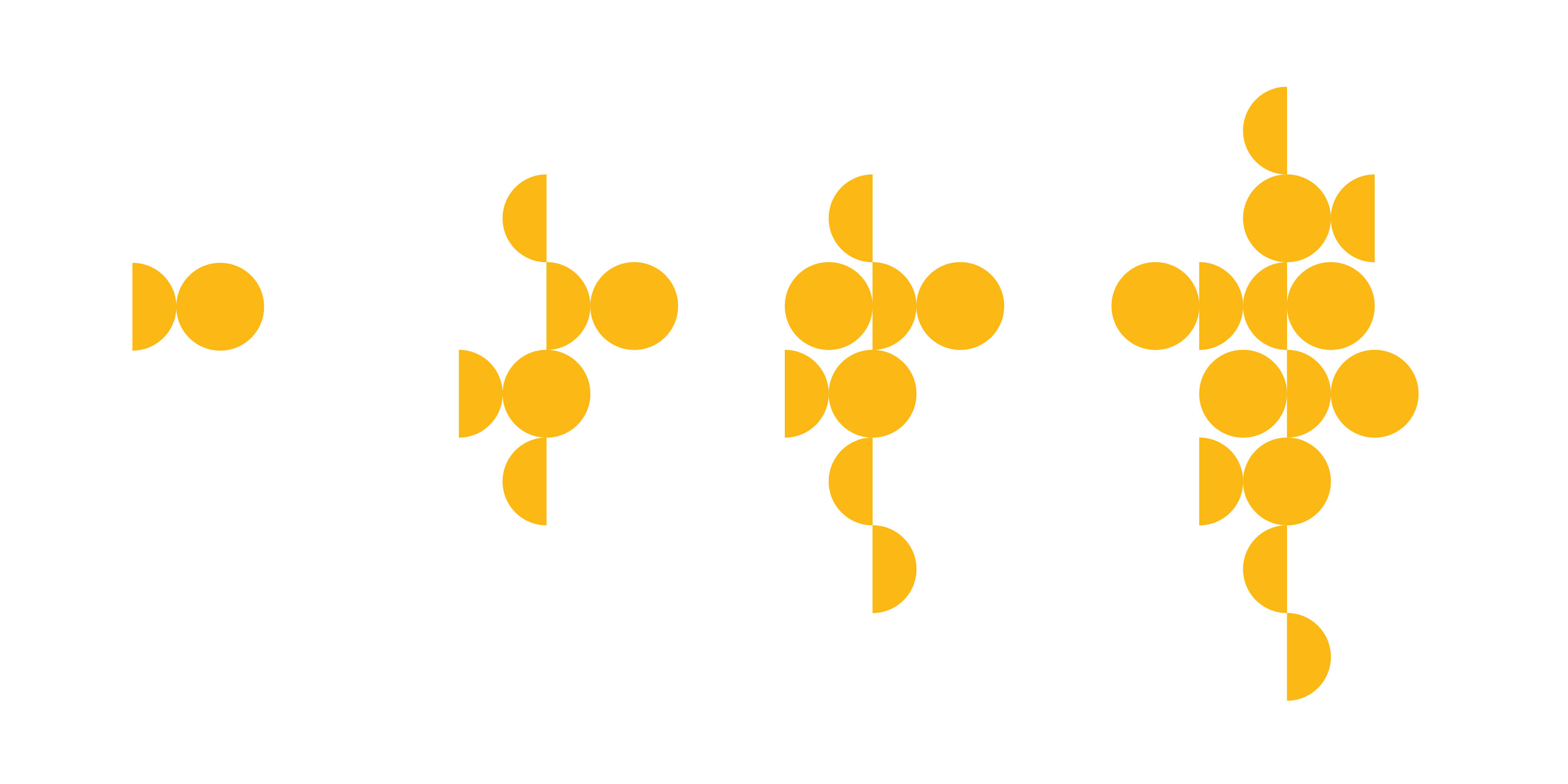 Symboler ur Tidaholms grafiska profil, framtagen av Identx