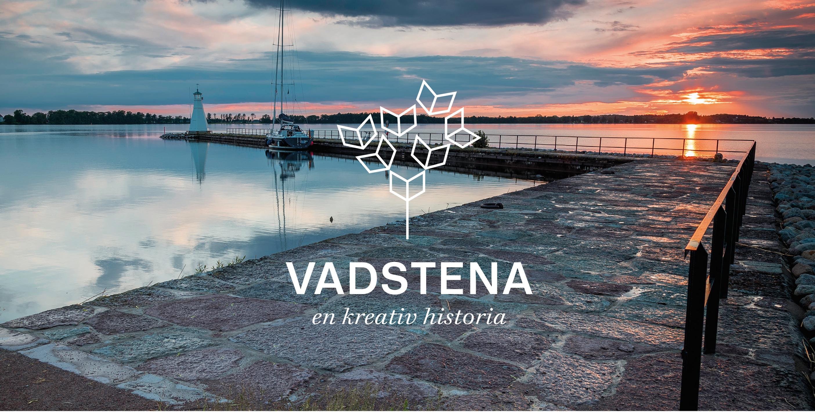Logotyp för platsen Vadstena, framtagen av Identx