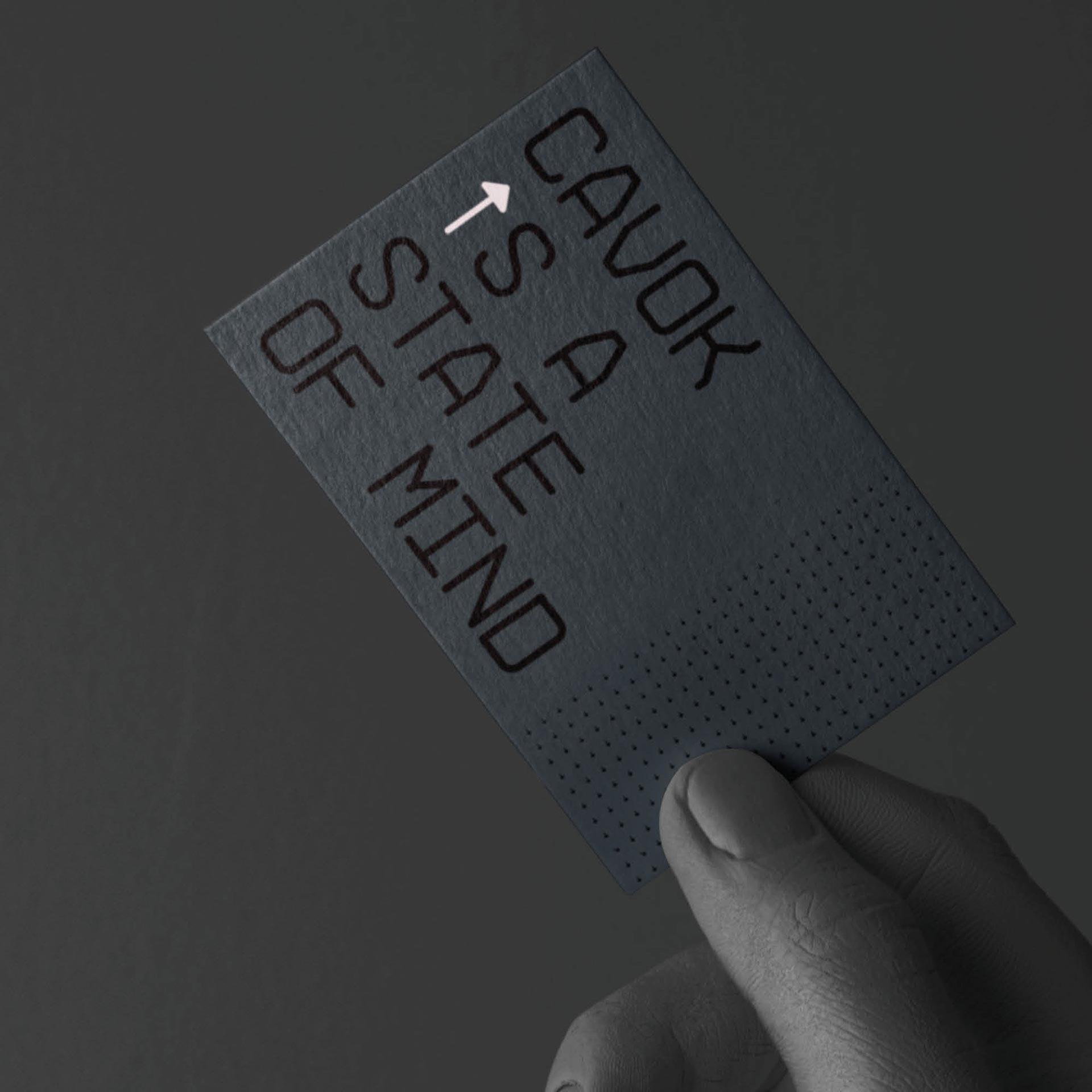Visitkort för CAV:OK - kund till Identx
