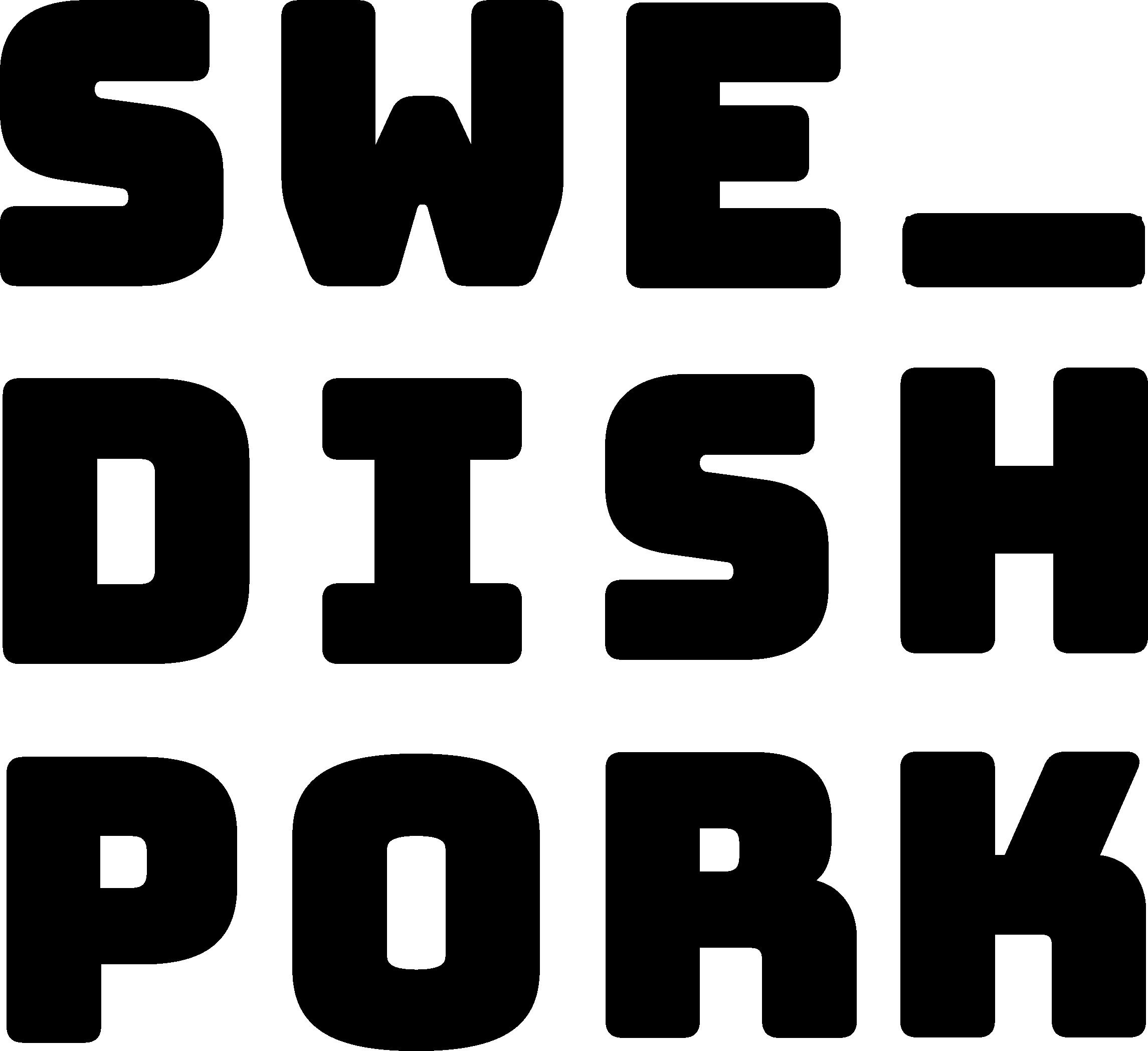 Svensk gris logotyp