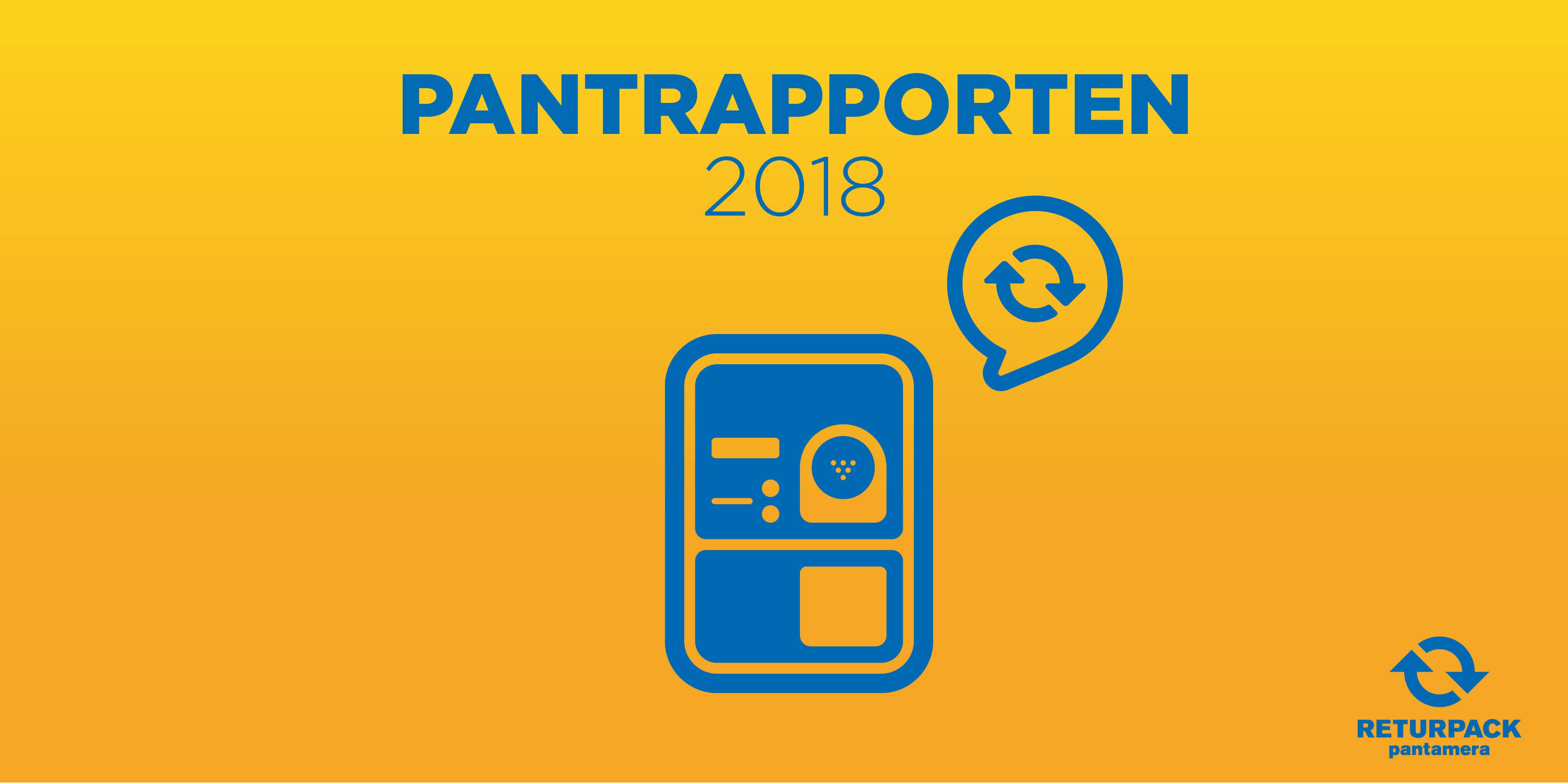 Identx har skapar pantrapporten för Returpack/Pantamera