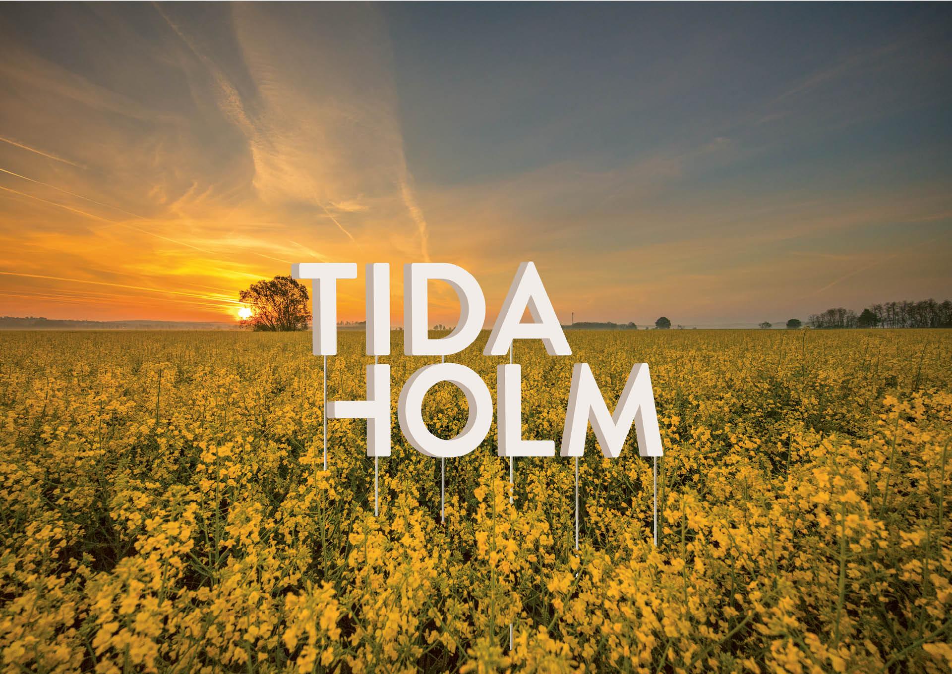 Logotyp för plasten Tidaholm, framtagen av Identx